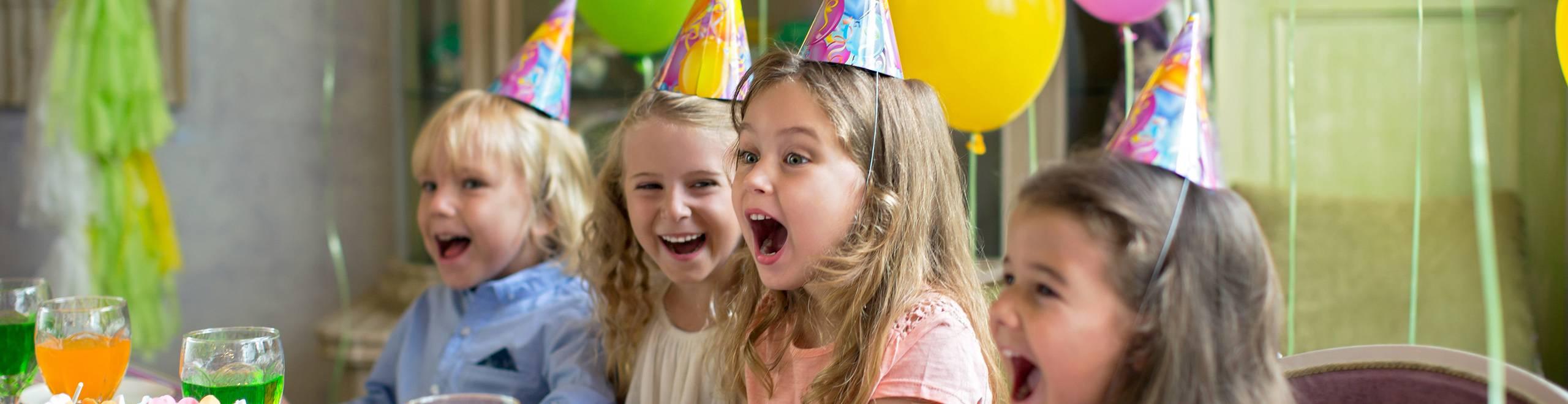 День рождения ребенка космик