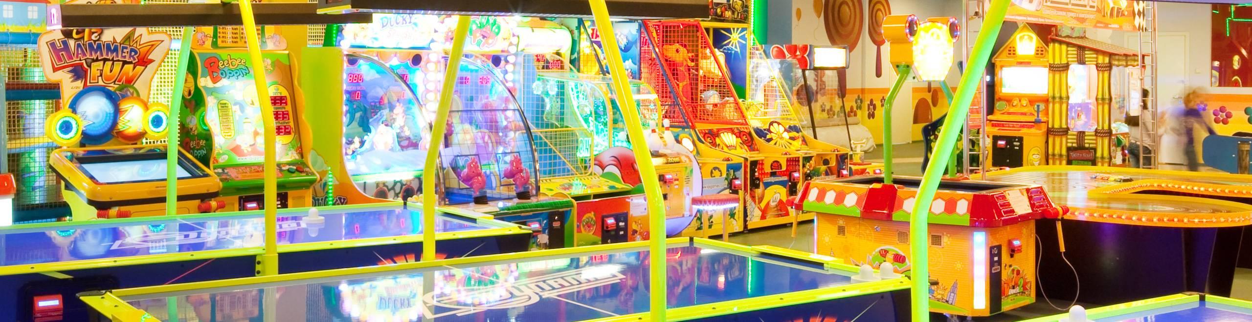 Детские игровые аппараты в ашане сенсорные игровые автоматы играть в халк